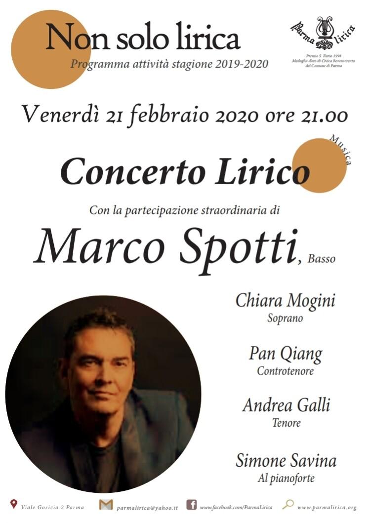 Marco Spotti a Parma Lirica