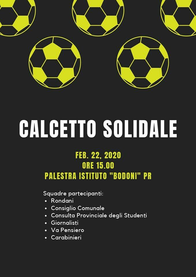 """Torneo benefico:  Calcio a 5 a scopo benefico organizzata dall'Istituto """"Camillo Rondani"""""""
