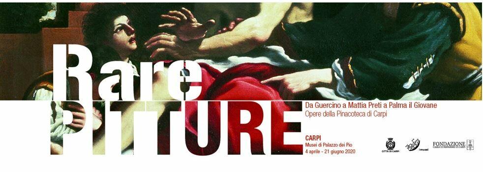 Rare pitture. Da Guercino a Mattia Preti a Palma il Giovane in mostra nella NUOVA PINACOTECA DI CARPI