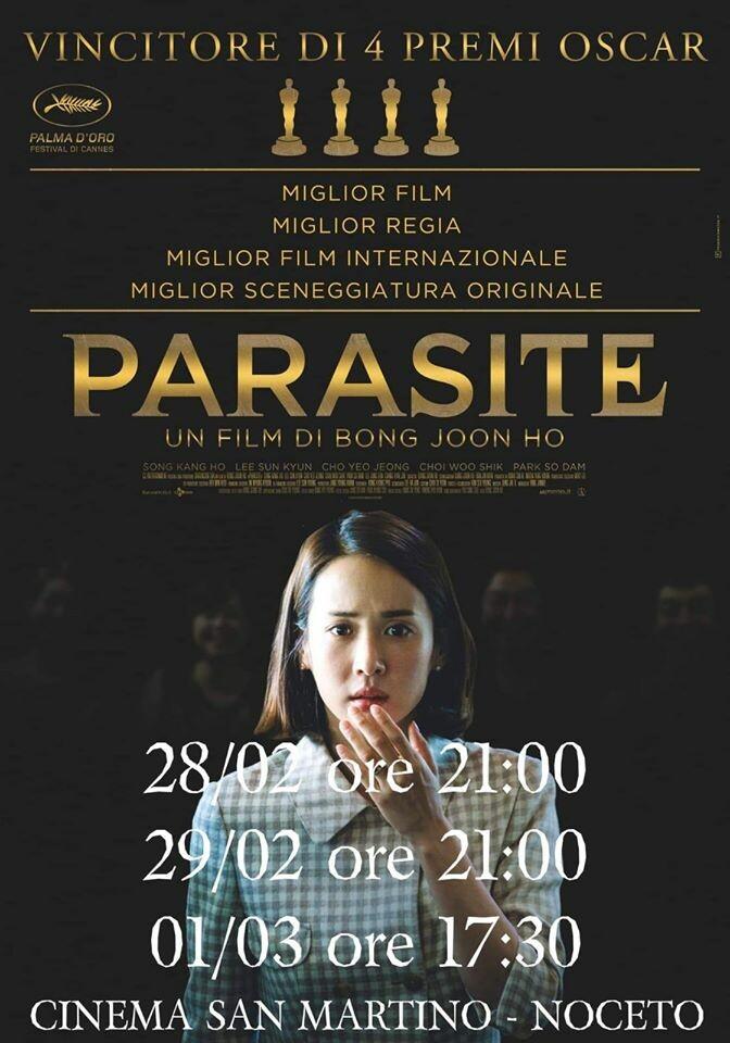 PARASITE   al cinema San Martino