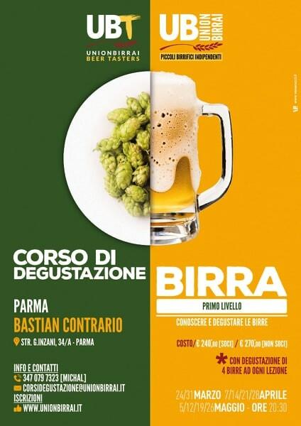Corso di degustazione birra al Bastian Contrario