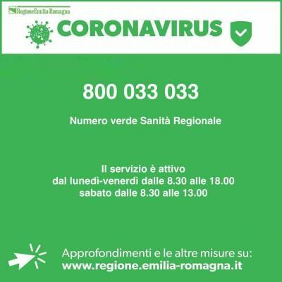 CORONAVIRUS: CHIUSURA NIDI, ATTIVITA' SCOLASTICA E UNIVERSITA' dal 2 al 7 marzo
