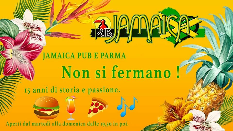 JAMAICA PUB PARMA aperto...ma solo per cene e aperitivi/cocktails
