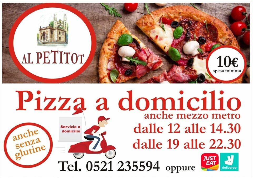 La pizza del Petitot a casa tua  - Pizza anche senza glutine