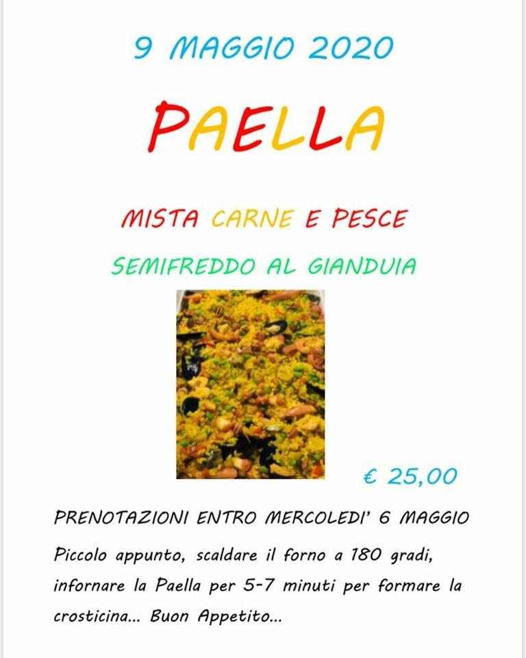"""Paella a domicilio de """"La porta a Viarolo"""""""