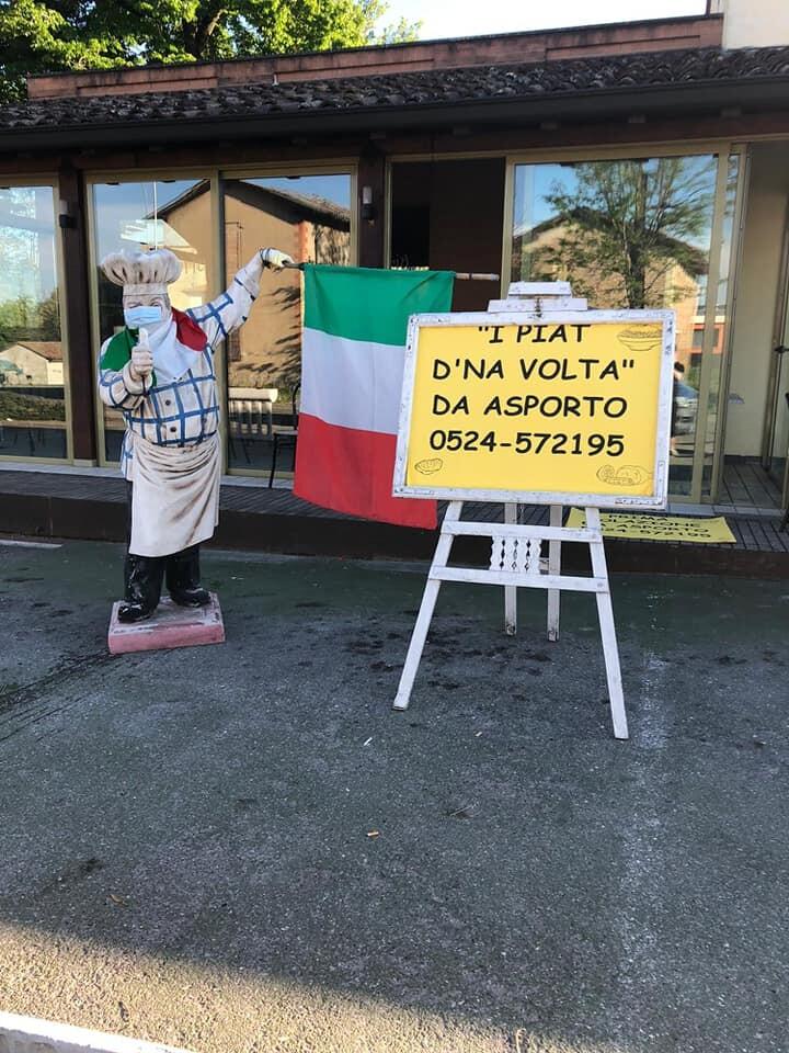 """La Trattoria Cavallo presenta """"I PIAT AD NA'  VOLTA""""  a domicilio"""