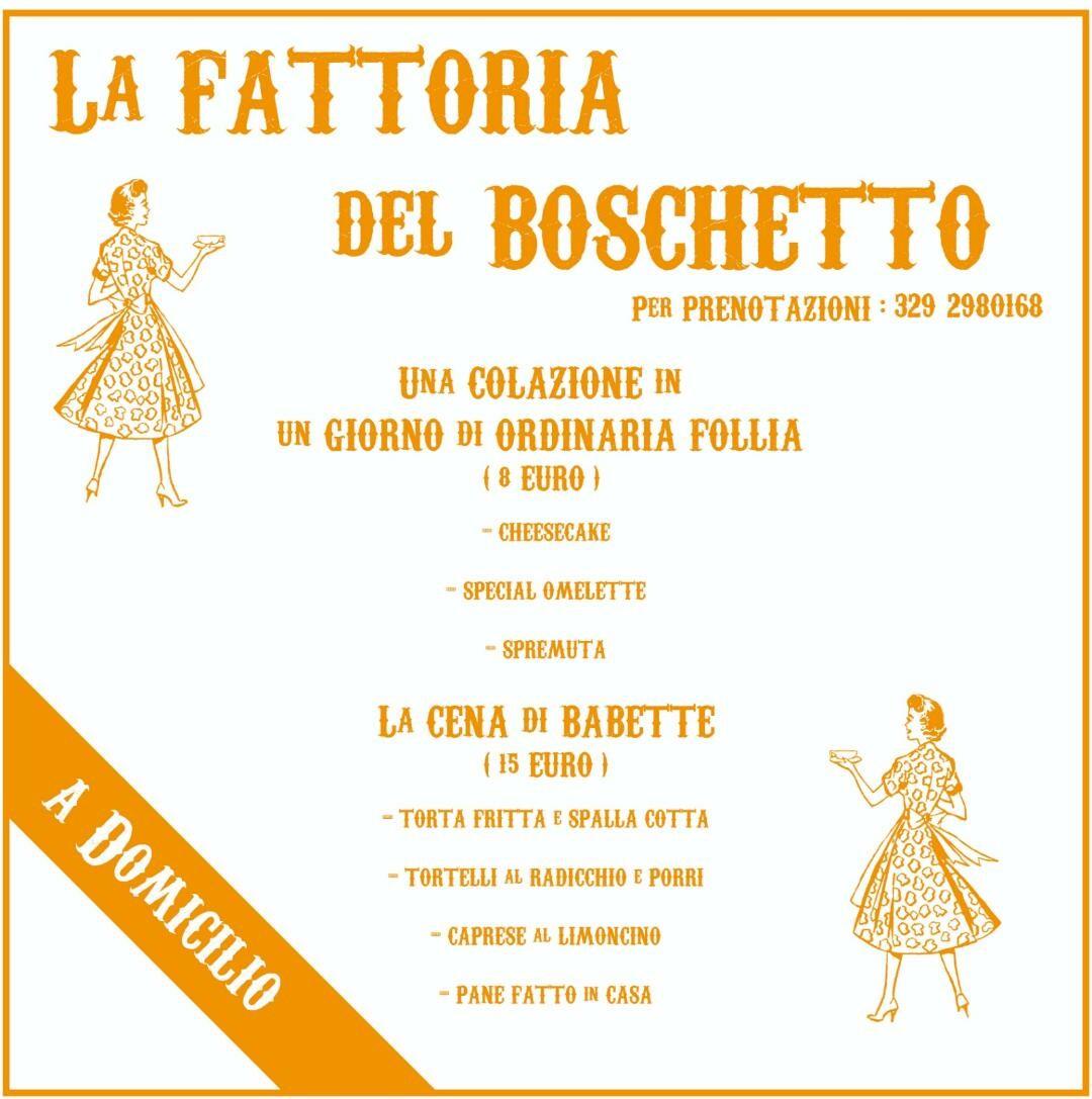 """La Fattoria Del Boschetto a """"Casa vostra"""""""