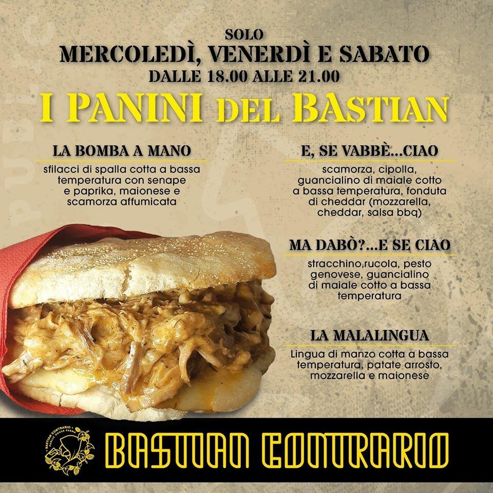 I panini del Bastian Contrario