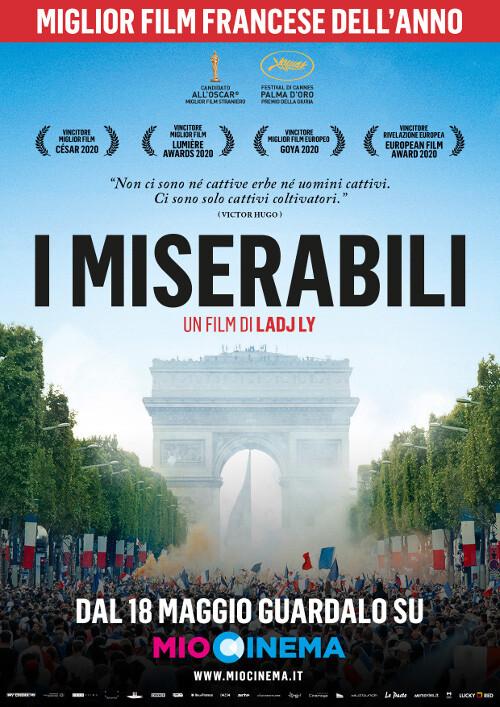 I miserabili: Cinema D'Azeglio aderisce alla piattaforma MioCinema.it