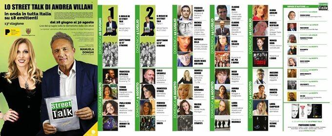 Lo Street Talk di Andrea Villani, un'estate a Salsomaggiore 2020 XIII° Stagione