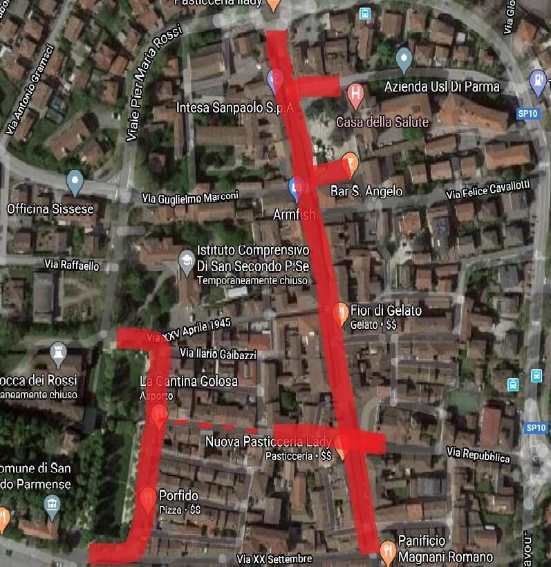 SAN SECONDO: Cambia il mercato del mercoledì: dal 27 maggio i banchi alimentari in piazza Mazzini