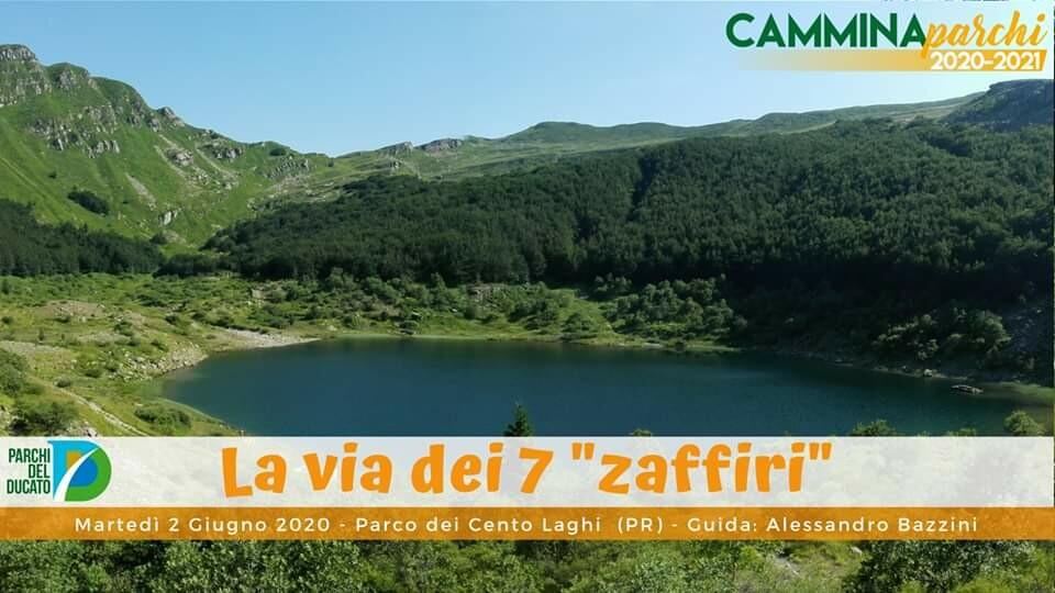 "Camminaparchi 2020: La via dei 7 ""zaffiri"""