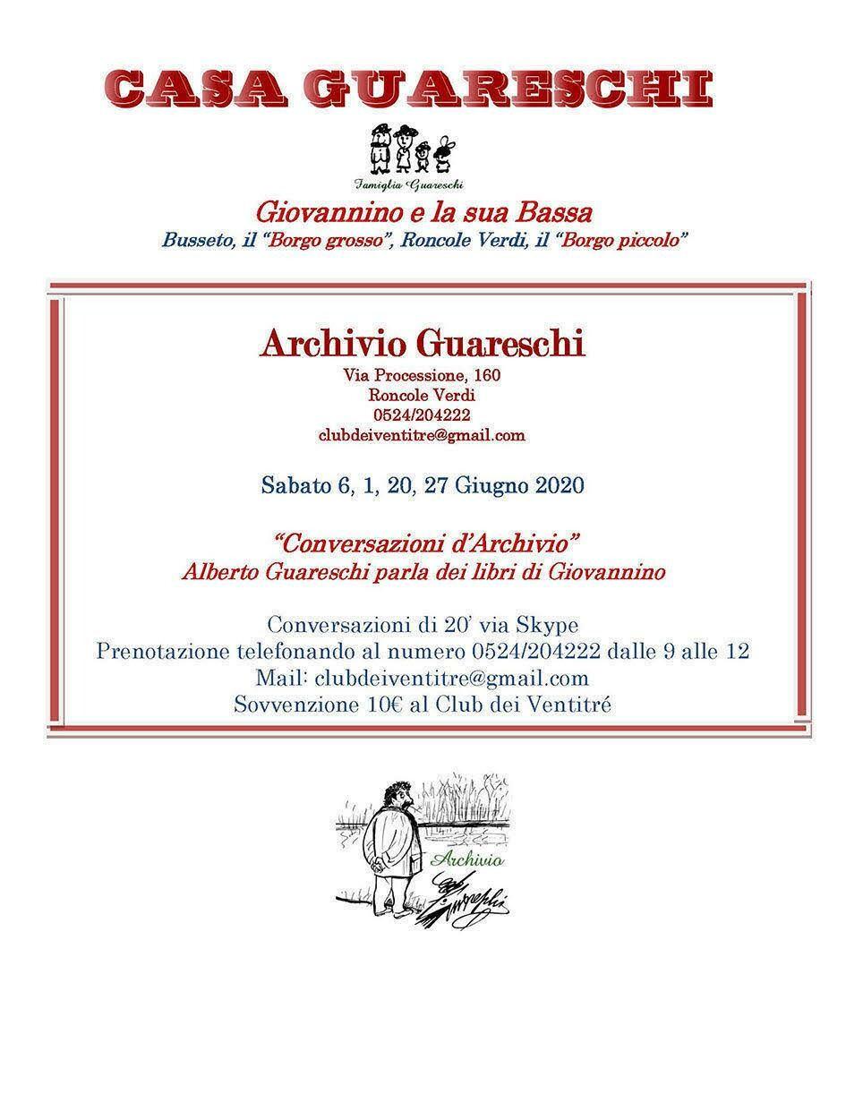 Conversazioni d'archivio: Alberto Guareschi parla dei libri di Giovannino