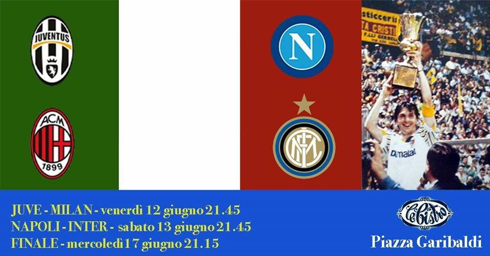 Serate di Coppa Italia al Bistro