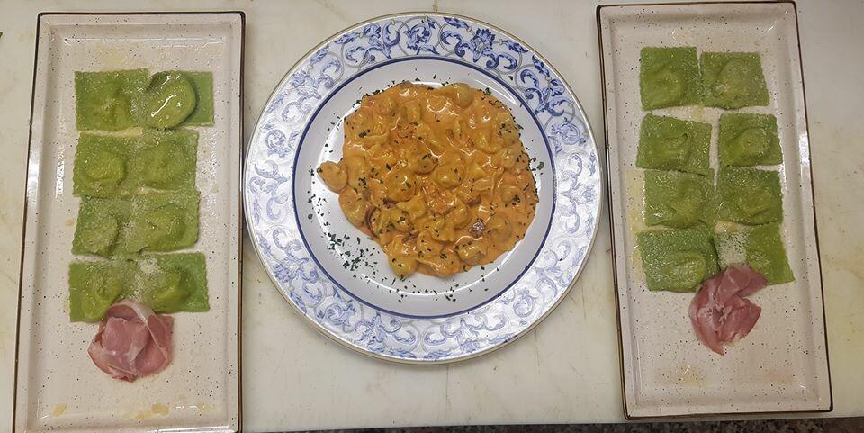 Week-end in collina, ma con i piatti del ristorante Corale Verdi