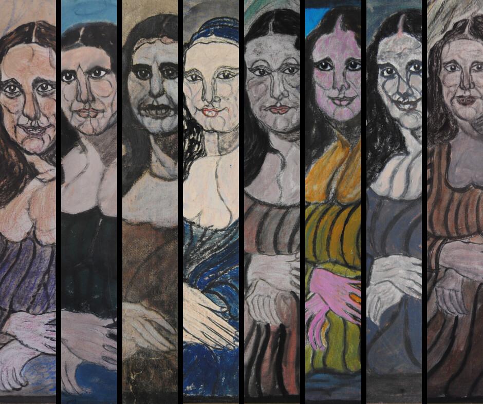 Le otto Gioconde di Pietro Ghizzardi in mostra al Museo Diotti di Casalmaggiore (CR) fino al 5 luglio