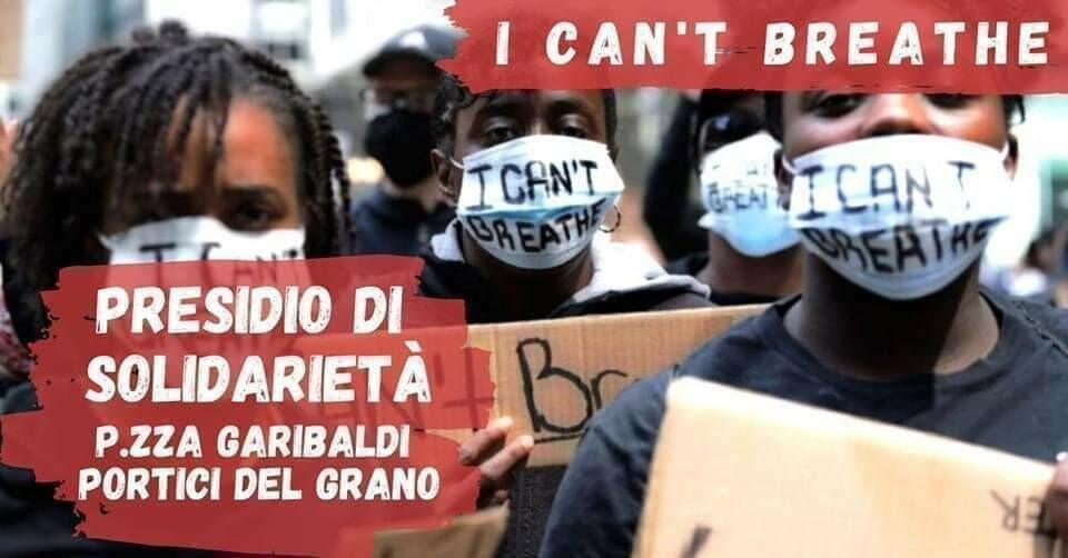 I Can't Breathe - Presidio di Solidarietà