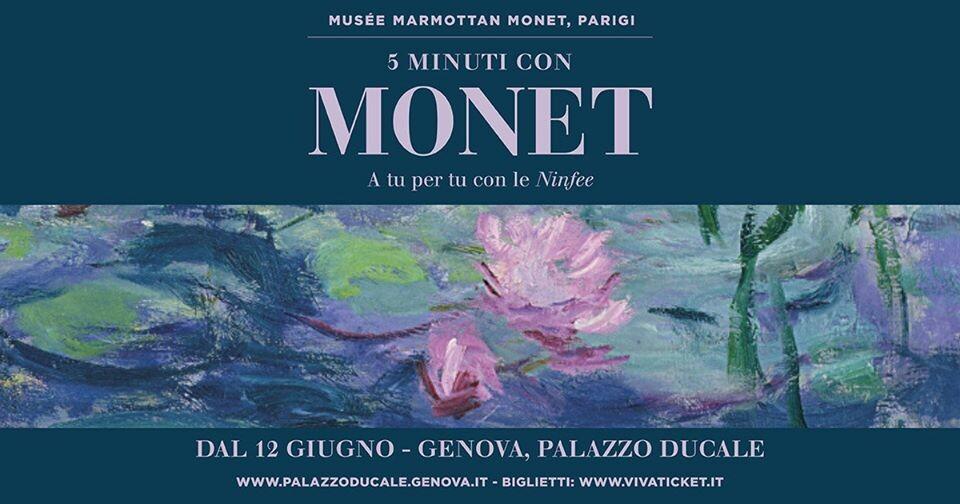 Cinque minuti con Monet. A tu per tu con le Ninfee a Palazzo Ducale di Genova