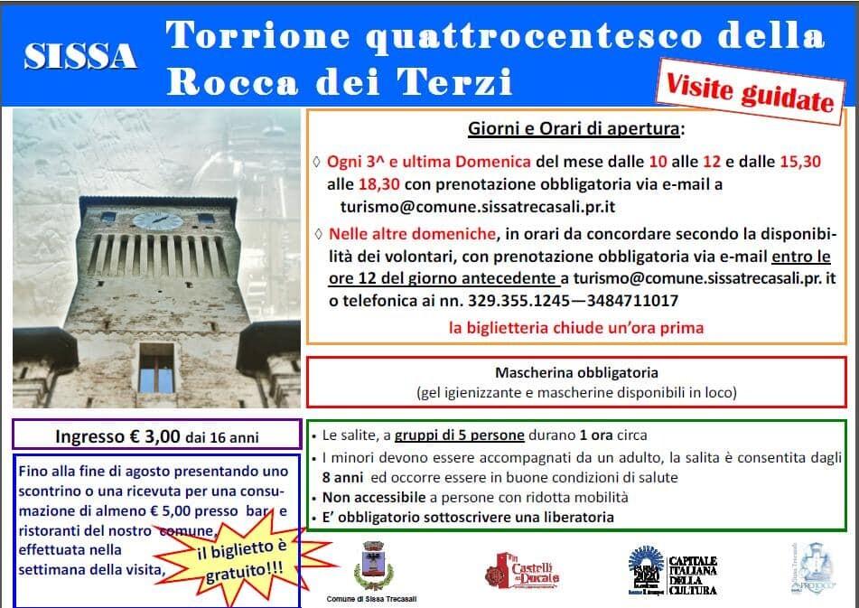 Visita guidata alla Rocca Di Terzi
