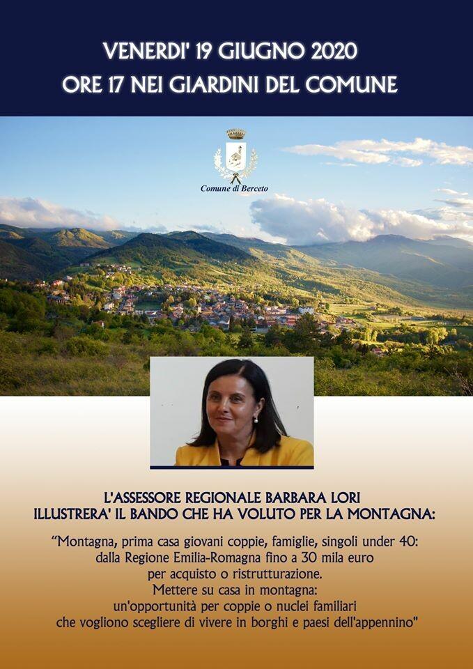 Mettere su casa in montagna!, incontro con l'assessore regionale Barbara Lori
