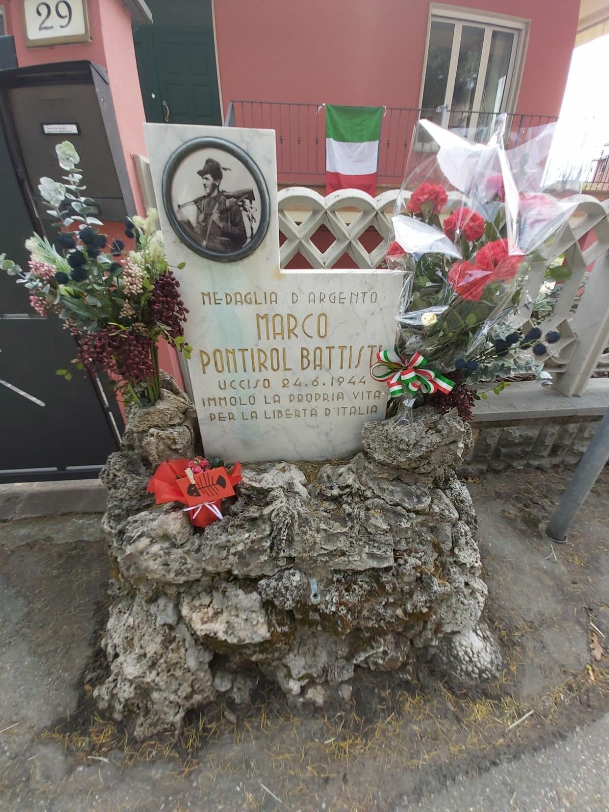 Commemorazione di Marco Pontirol Battisti a San Michele Tiorre.