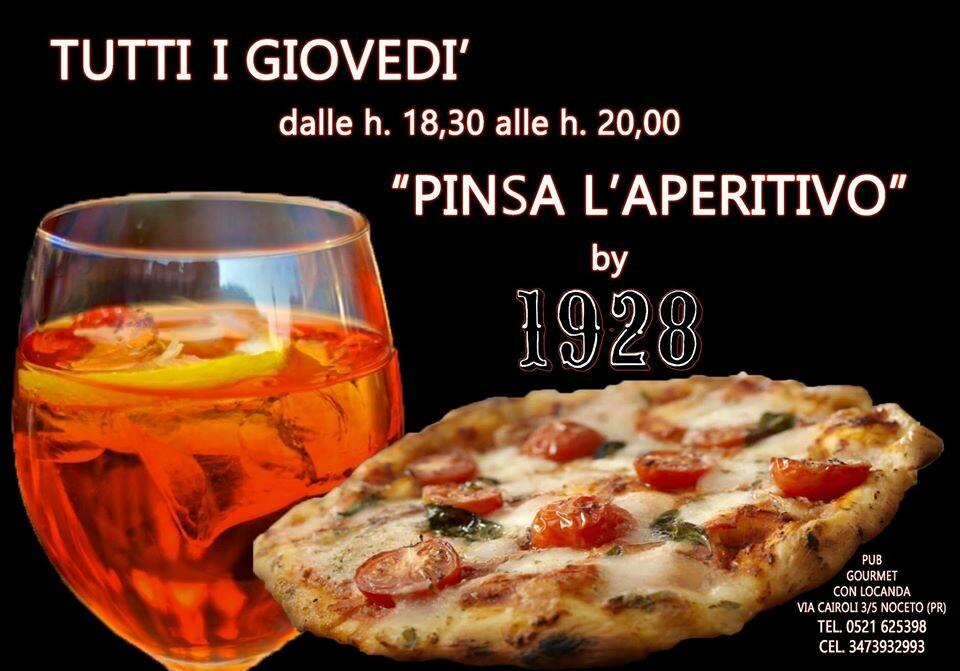Pinsa l'aperitivo al 19-28 pub gourmet ristorante