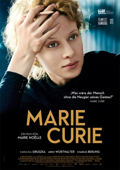 Marie Curie all' Arena estiva del cinema Astra.