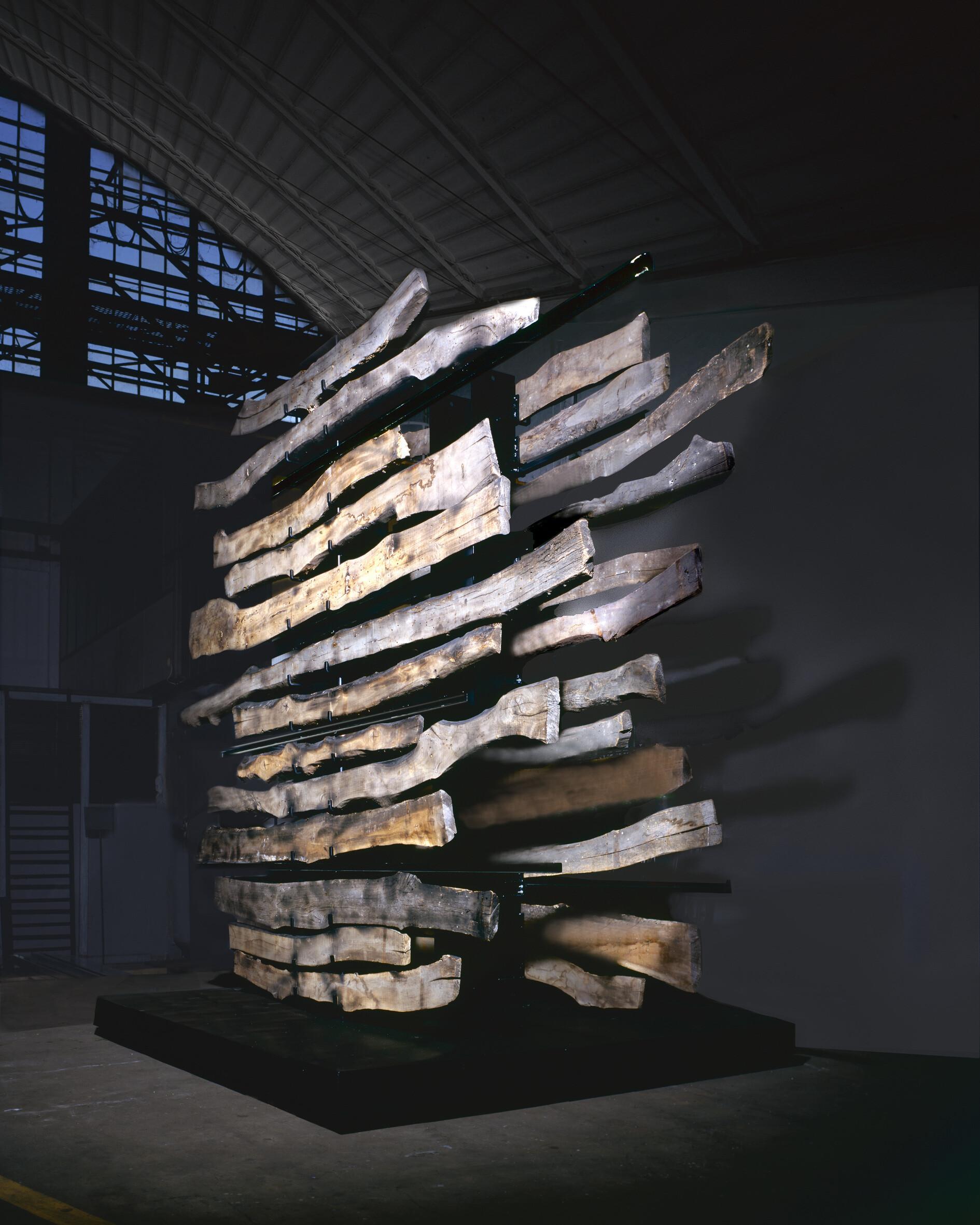 Maria Cristina Carlini Geologie, memoria della terra in mostra nello STUDIO MUSEO FRANCESCO MESSINA