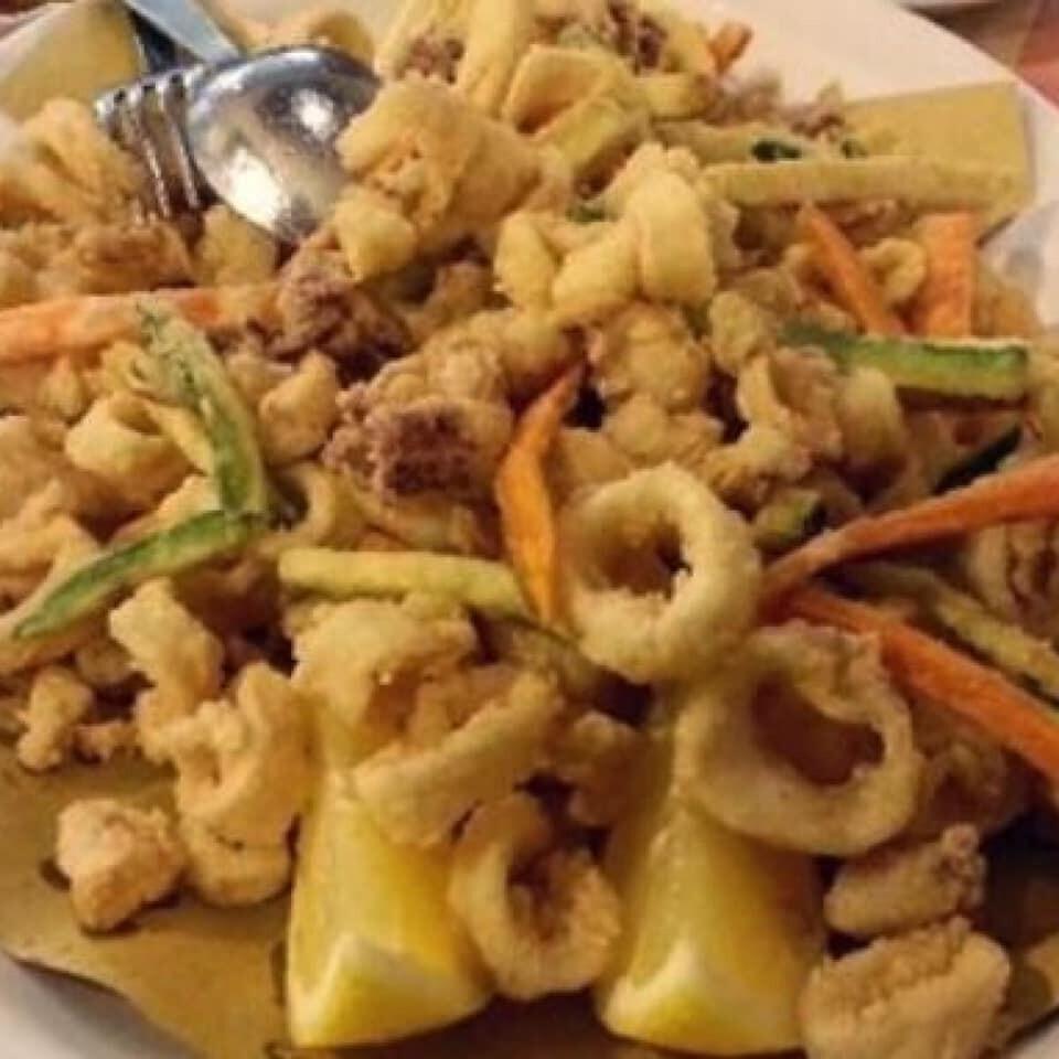 Menù di pesce fresco  al ristorante Ombre rosse