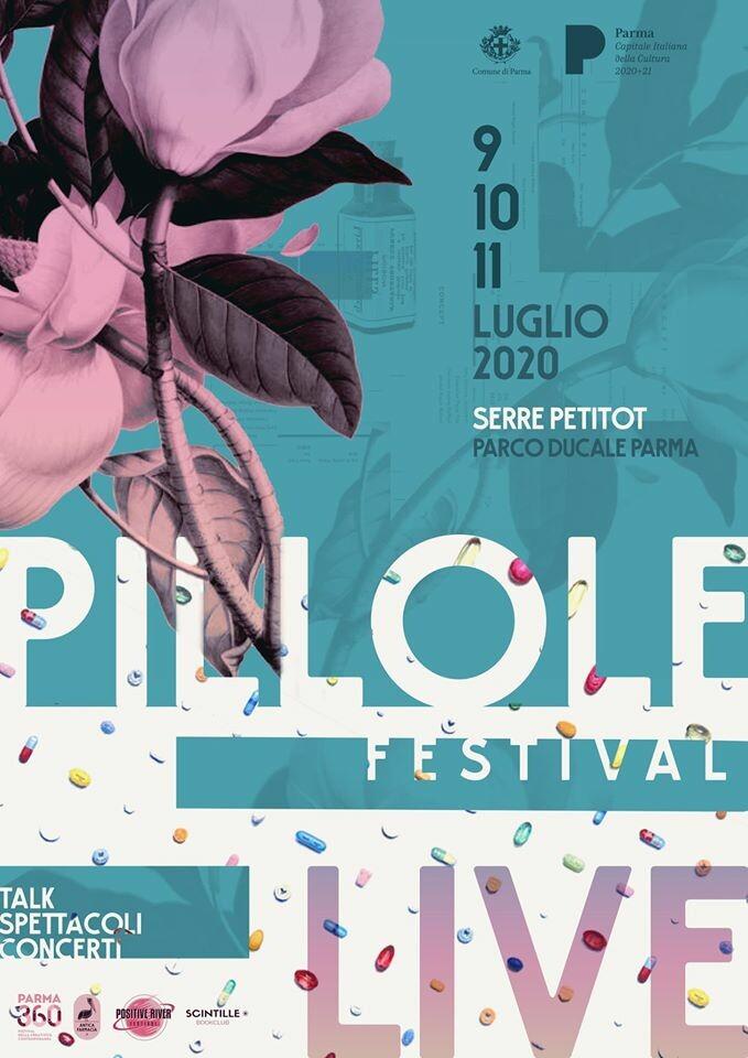 Pillole Festival nelle meravigliose Serre Petitot del Parco Ducale