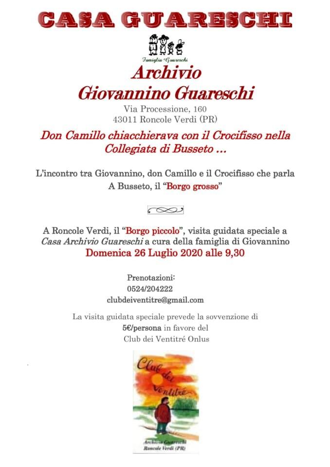 Casa Archivio Guareschi: Don camillo chiacchierava col crocifisso