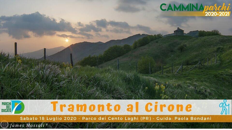 Camminaparchi: Tramonto al Cirone