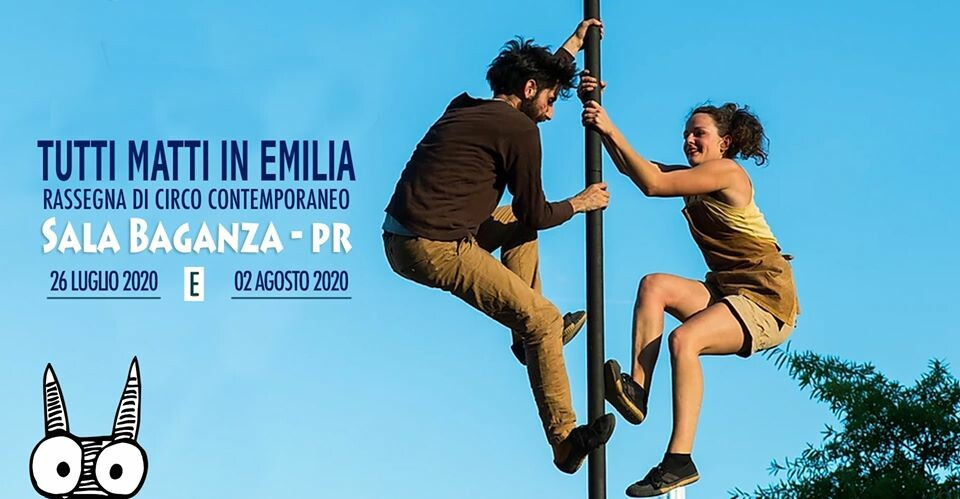 Tutti Matti in Emilia a Sala Baganza | circo contemporaneo