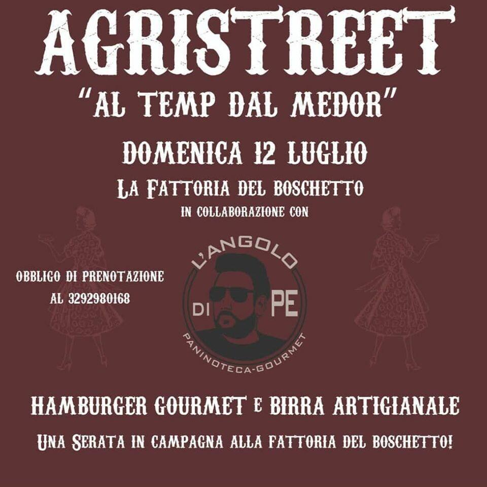 AGRISTREET a La Fattoria Del Boschetto