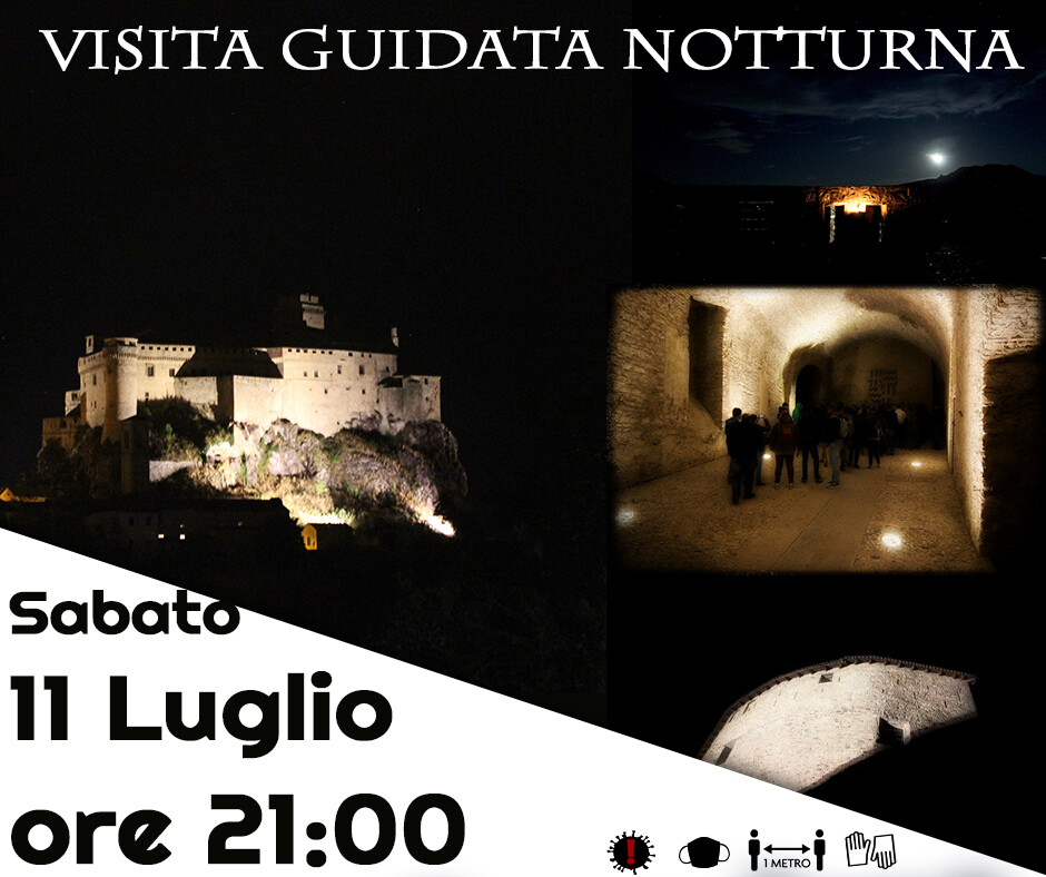 Vista Guidata Notturna al Castello di Bardi: