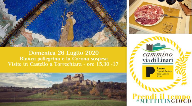 Bianca e la corona sospesa - Viisita guidata al castello di Torrechiara tutte le domeniche e i festivi