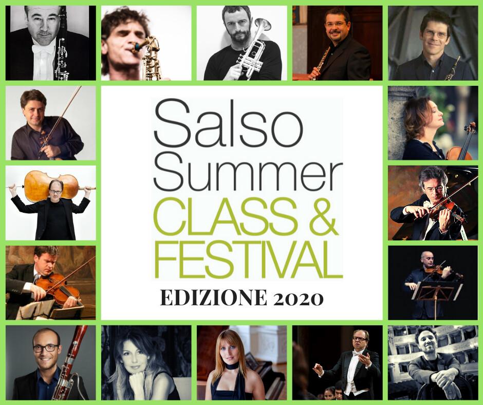 IL SUONO NELLA BELLEZZA  Al via il  Salso Summer Class & Festival 2020