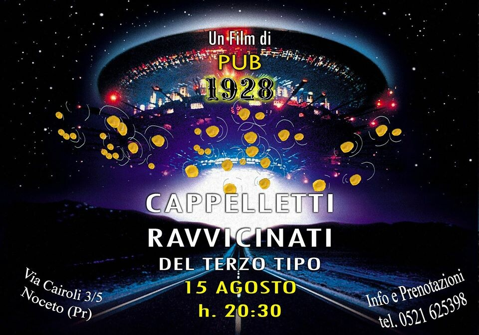 Cappelletti Night al 19-28 pub gourmet ristorante