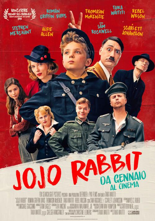 JO JO RABBIT  Oscar Miglior Sceneggiatura all' Arena estiva del cinema Astra.