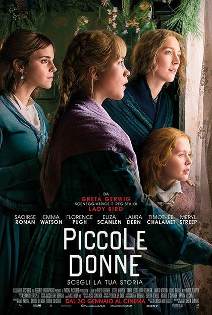 PICCOLE DONNE  di Greta Gerwig con: Emma Watson, all' Arena estiva del cinema Astra.