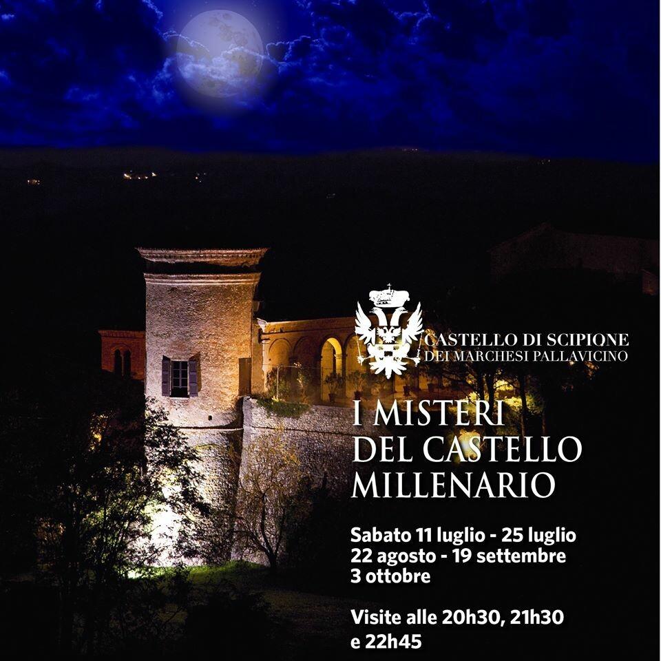 Visite notturne nel millenario Castello di Scipione dei Marchesi Pallavicino