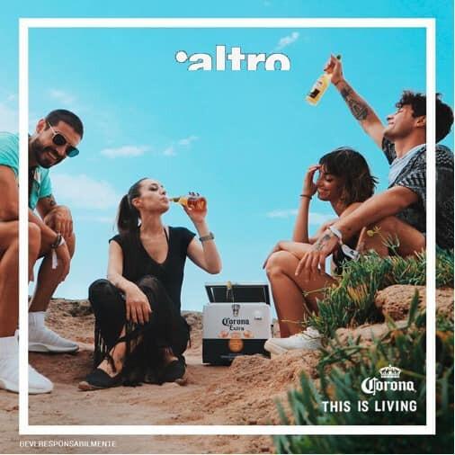 Primo Corona party @ALTRO con dj Trinity