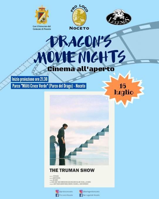 "• DRAGON'S MOVIE NIGHTS •  ""The Truman Show""."