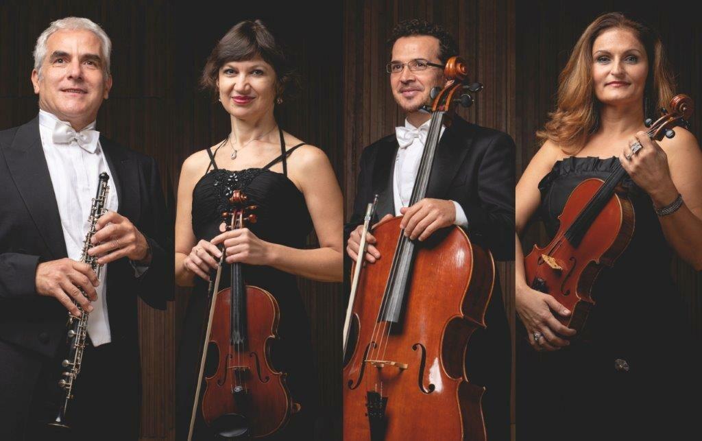 MUSICA IN COLLINA A SALA BAGANZA Il Quartetto de La Toscanini nel cortile della Rocca