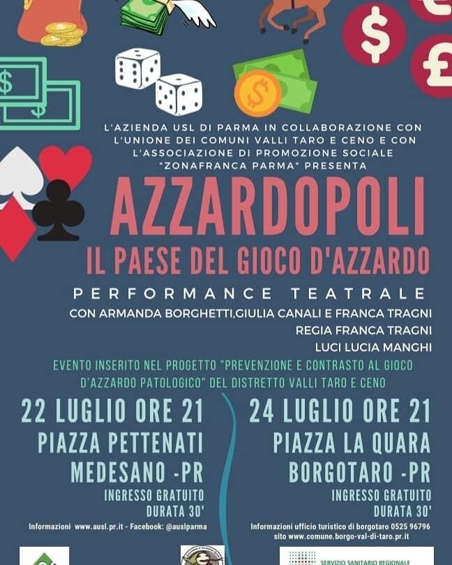 Azzardopoli, il paese del gioco d'azzardo - performance teatrale