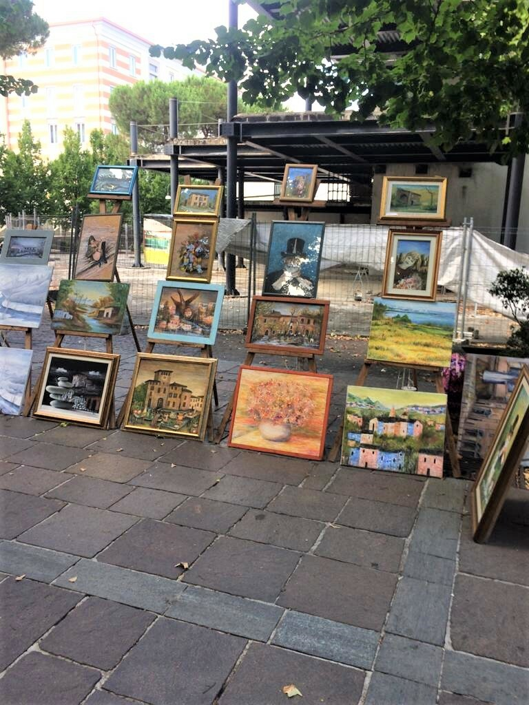 """Esposizione artistica delle opere """"Associazione Arte e Cultura di Parma"""