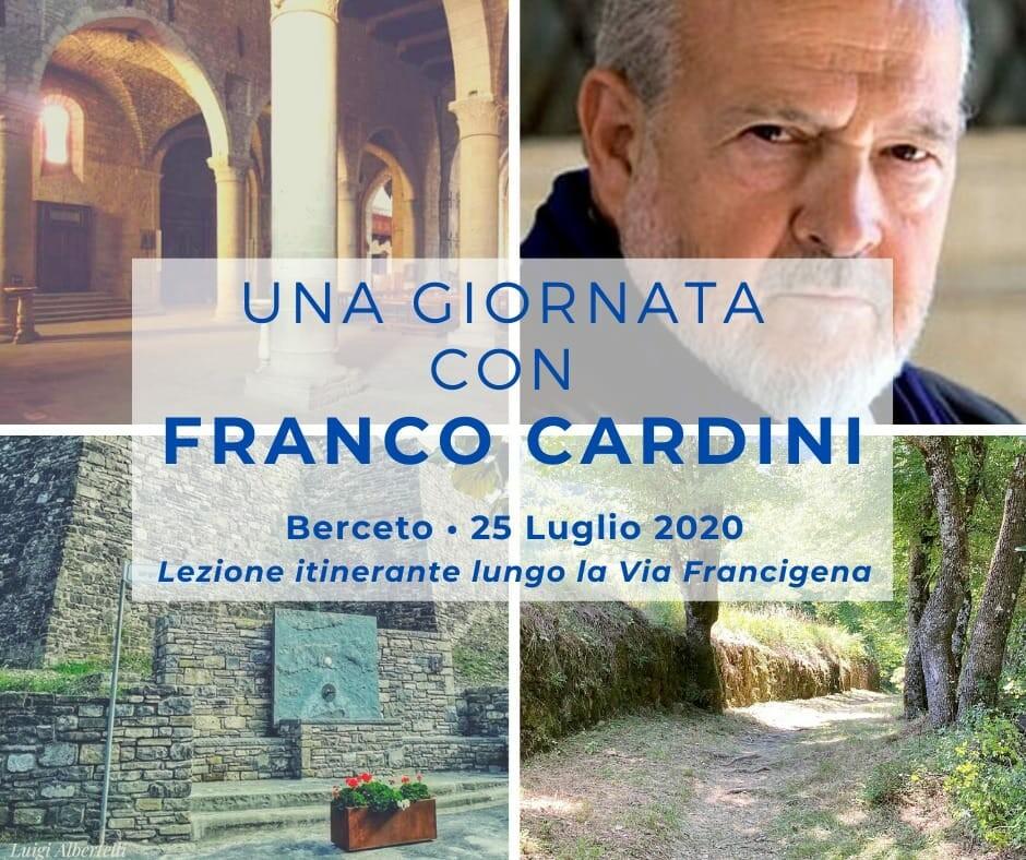 Una giornata con Franco Cardini lungo la via Francigena