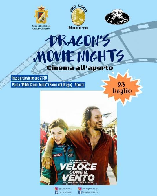 """• DRAGON'S MOVIE NIGHTS •  """"Veloce come il vento"""""""