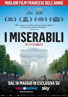 I MISERABILI  Premio della Giuria al Festival di Cannes all' Arena estiva del cinema Astra.