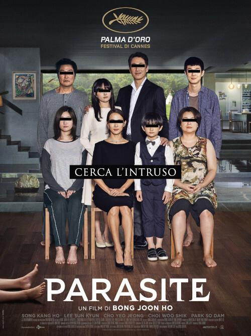 PARASITE  Premio Oscar-Miglior film-Miglior regia all' Arena estiva del cinema Astra.